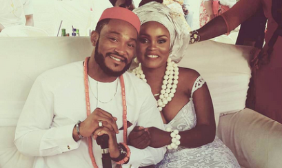 First photos from Nollywood actor – Blossom Chukwujekwu's traditional wedding