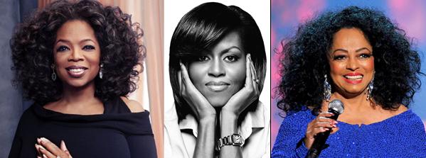 Oprah Winfrey, Michelle Obama and Diana Ross - LoveweddingsNG
