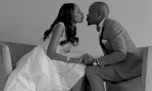 We love Taiwo's Courthouse/Registry gown by Jaybecks Bridals