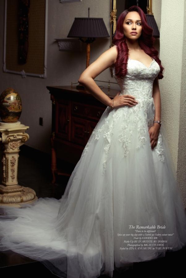 Tania Omotayo Good Hair Christmas Editorial LoveweddingsNG 1