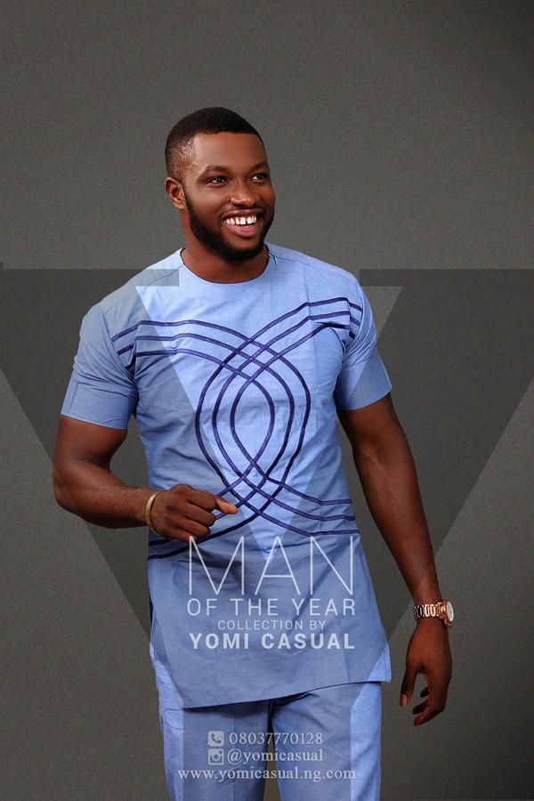 Yomi Casual Man of the Year Collection Lookbook - Emmanuel Ikubese LoveweddingsNG