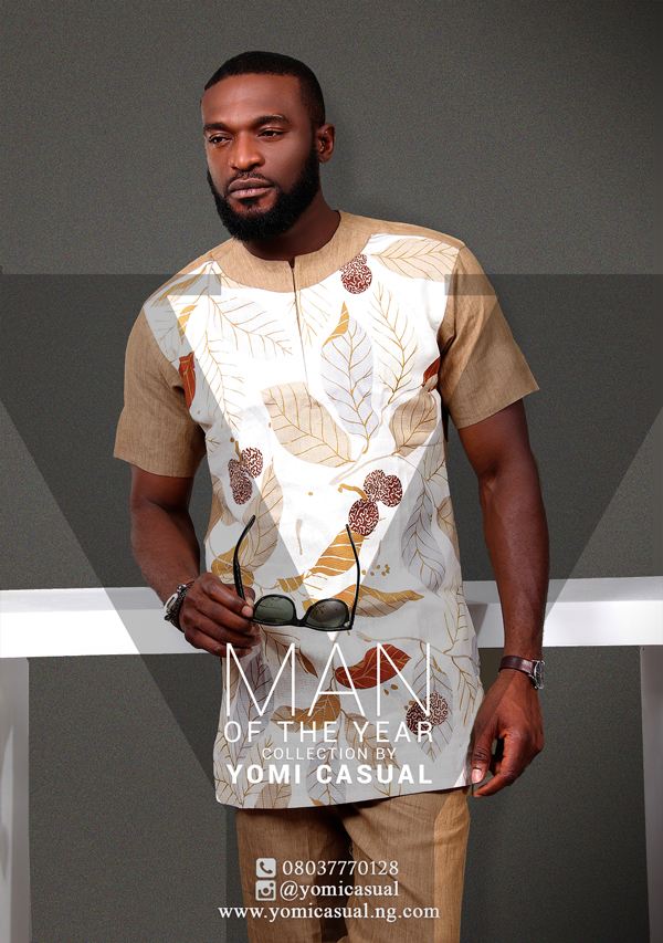 Yomi Casual Man of the Year Collection Lookbook - Kenneth Okolie LoveweddingsNG