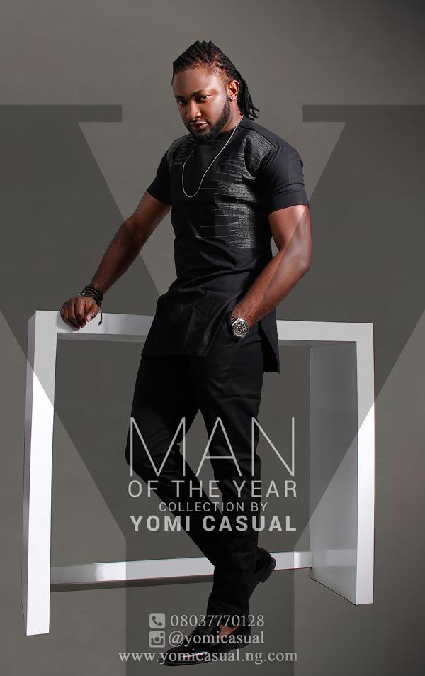 Yomi Casual Man of the Year Collection Lookbook - Uti Nwachukwu LoveweddingsNG