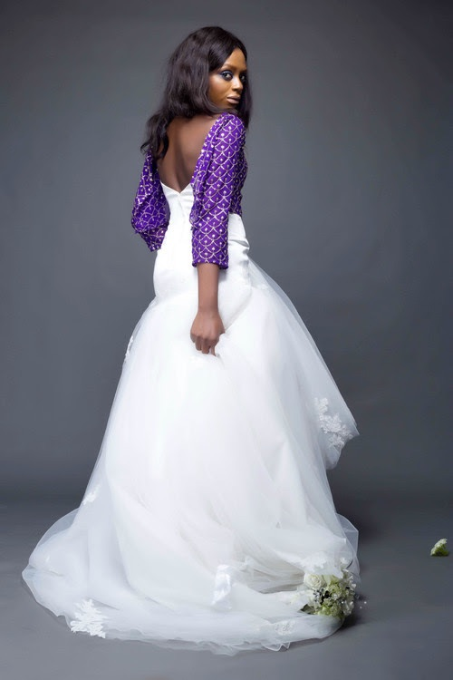 Aniké Midelė Autumn Winter 2016 Bridal Collection - Enchanted LoveweddingsNG 9