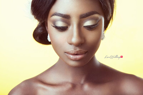 Bridal Hair and Makeup Inspiration - Neon Velvet & Helen Leonard LoveweddingsNG 10