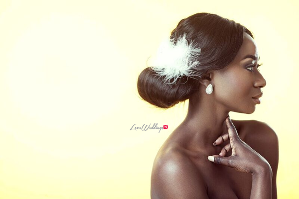 Bridal Hair and Makeup Inspiration - Neon Velvet & Helen Leonard LoveweddingsNG 9