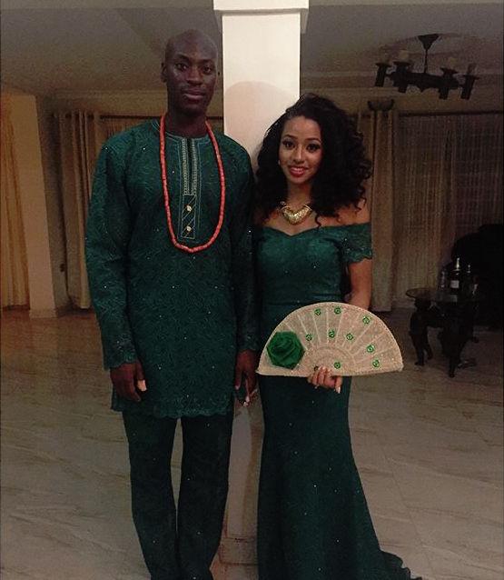 Chinwetel Ejiofor's sister - Kandi weds Dele In Enugu LoveweddingsNG 1