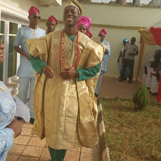 Chinwetel Ejiofor's sister - Kandi weds Dele In Enugu LoveweddingsNG 5