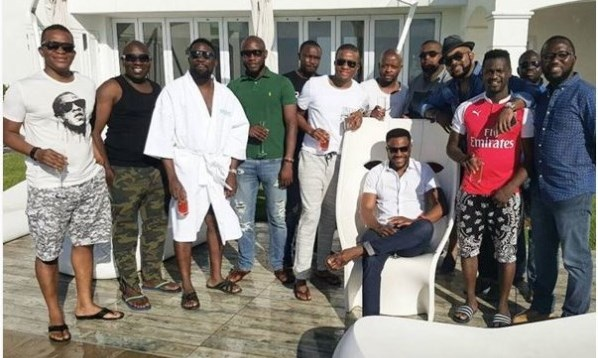 Ebuka Obi-Uchendu gets a Surprise Bachelor's Party in Cape Town