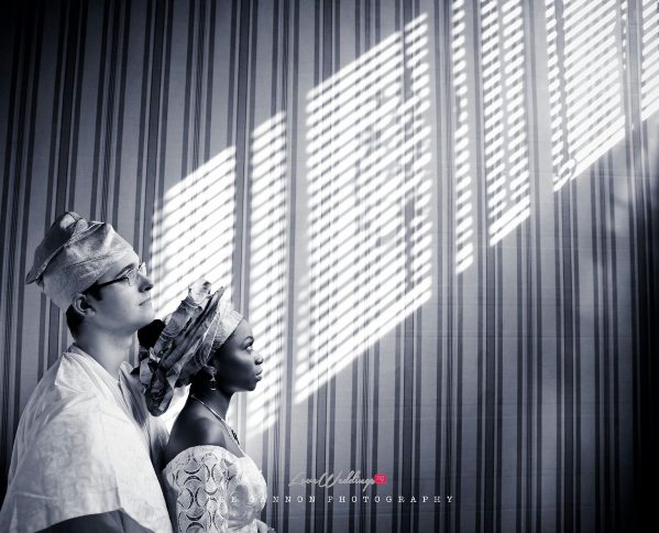Hauwa and Magnes Engagement Shoot - LoveweddingsNG 4