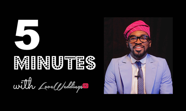 5 Minutes With… Tohwson | The Wedding MC