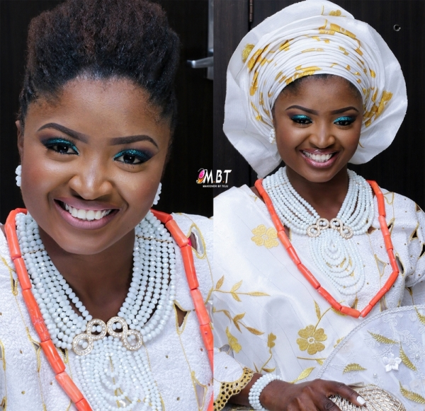 Nigerian Comedian Jedi weds Olajumoke LoveweddingsNG 2
