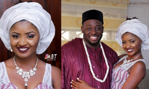 Nigerian Comedian Jedi weds Olajumoke: First Photos from their Traditional Wedding