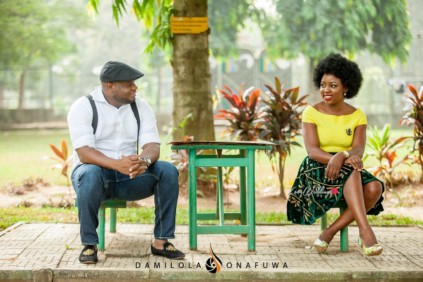 Nigerian Pre Wedding Shoot Tola Wale Damilola Onafuwa DO Weddings LoveweddingsNG 1