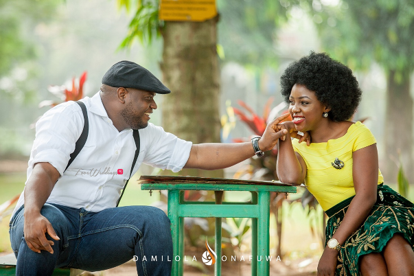 Nigerian Pre Wedding Shoot Tola Wale Damilola Onafuwa DO Weddings LoveweddingsNG 2