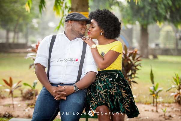 Nigerian Pre Wedding Shoot Tola Wale Damilola Onafuwa DO Weddings LoveweddingsNG 4
