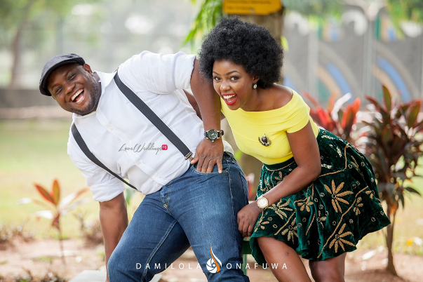 Nigerian Pre Wedding Shoot Tola Wale Damilola Onafuwa DO Weddings LoveweddingsNG 6