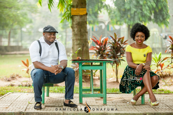 Nigerian Pre Wedding Shoot Tola Wale Damilola Onafuwa DO Weddings LoveweddingsNG