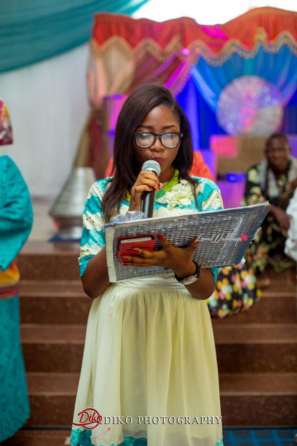 Nigerian Traditional Wedding - Bunmi and Mayowa LoveweddingsNG - letter reading