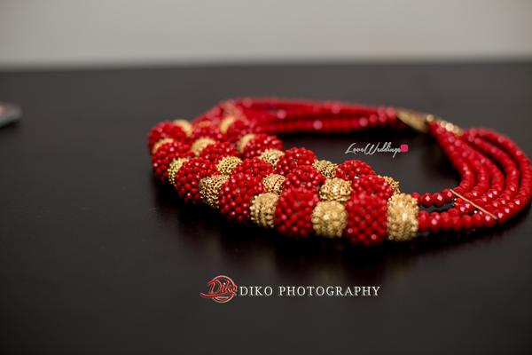 Nigerian Traditional Wedding - Bunmi and Mayowa beads LoveweddingsNG