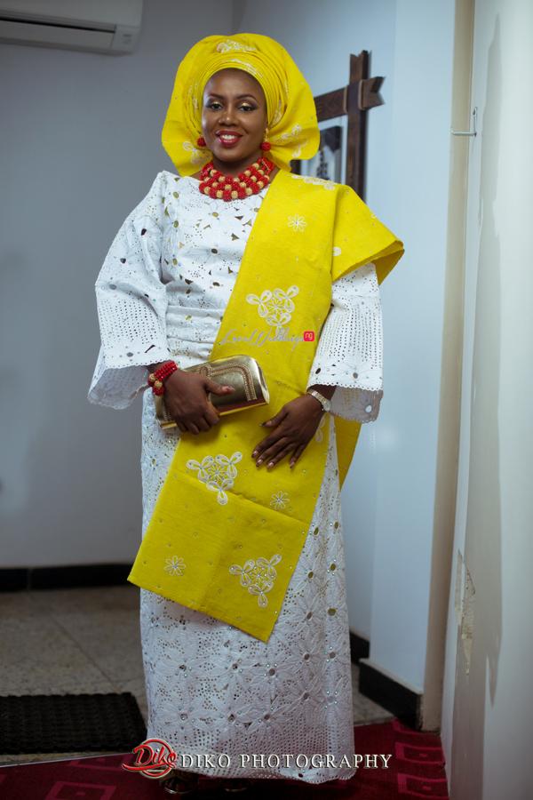 Nigerian Traditional Wedding - Bunmi and Mayowa bride LoveweddingsNG 3