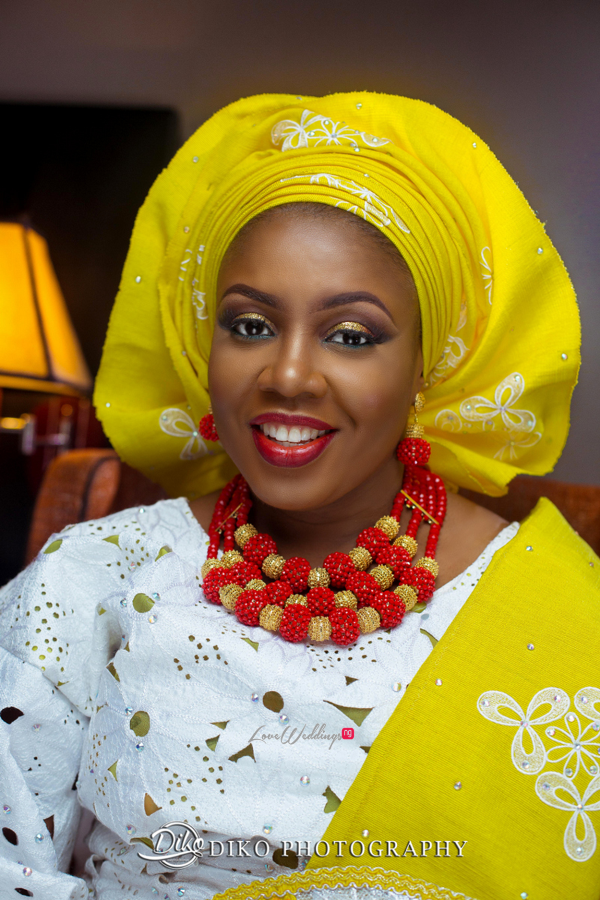 Nigerian Traditional Wedding - Bunmi and Mayowa bride LoveweddingsNG