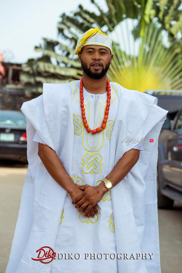 Nigerian Traditional Wedding - Bunmi and Mayowa groom LoveweddingsNG 1