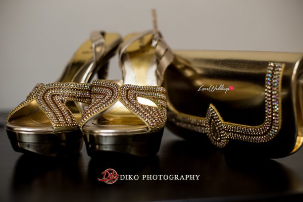 Nigerian Traditional Wedding - Bunmi and Mayowa shoes and clutch LoveweddingsNG