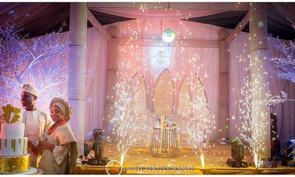 Nigerian Wedding #DoubleO2016 LoveweddingsNG decor