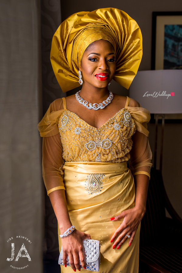 Nigerian Wedding #DoubleO2016 LoveweddingsNG traditional bride 1