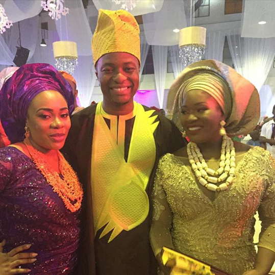 Toolz & Tunde Demuren's Traditional Wedding - Bride and Groom LoveweddingsNG 2