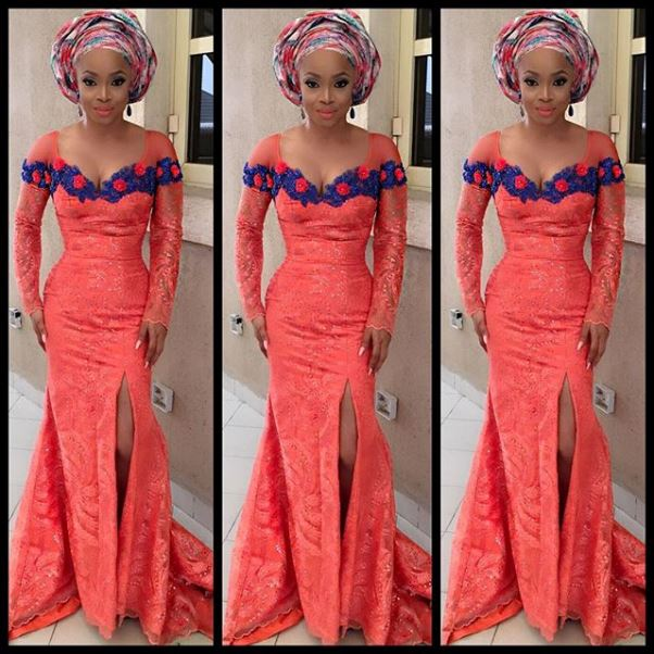 Toolz & Tunde Demuren's Traditional Wedding - Toke Makinwa in April by Kunbi LoveweddingsNG
