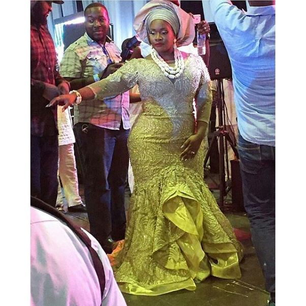 Toolz & Tunde Demuren's Traditional Wedding - Toolz Second Outfit LoveweddingsNG