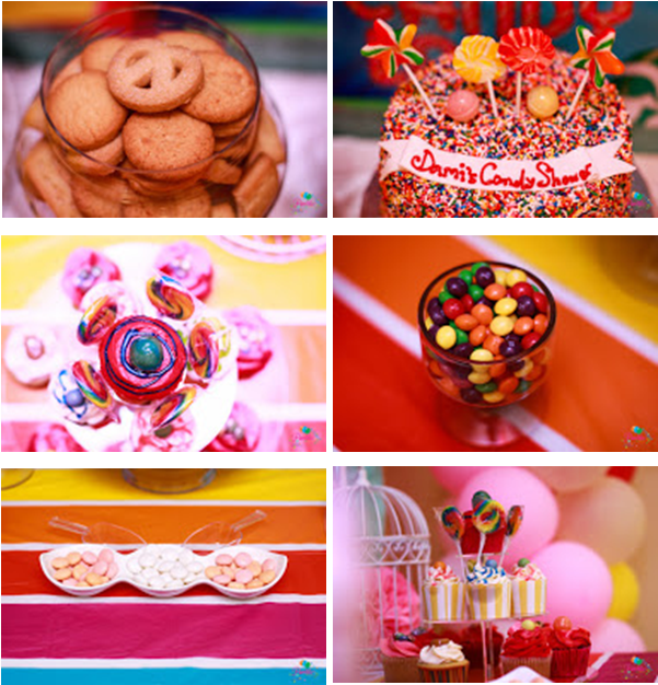 Candy Themed Bridal Shower - Partito by Ronnie LoveweddingsNG