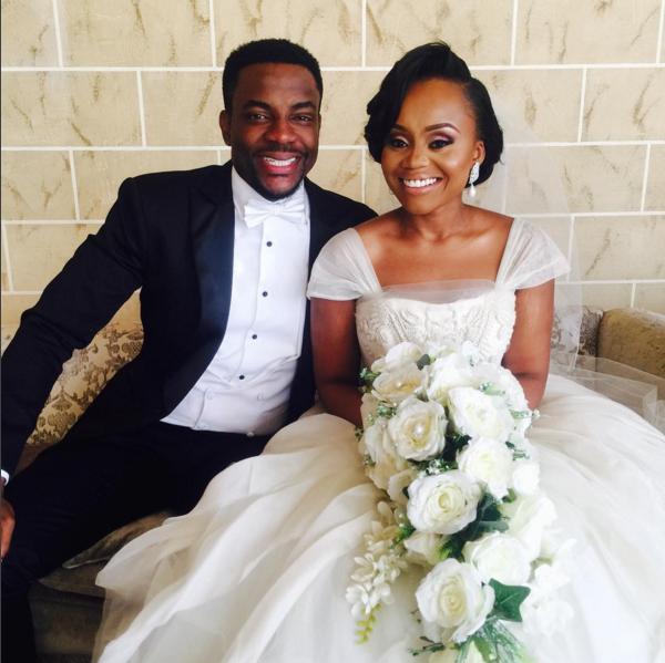 Ebuka Obi - Uchendu Cynthia Obianodo White Wedding LoveweddingsNG 2