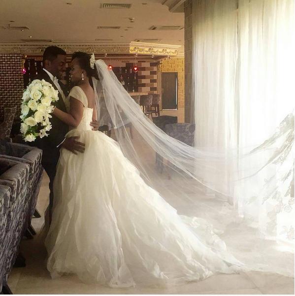 Ebuka Obi - Uchendu Cynthia Obianodo White Wedding LoveweddingsNG 3