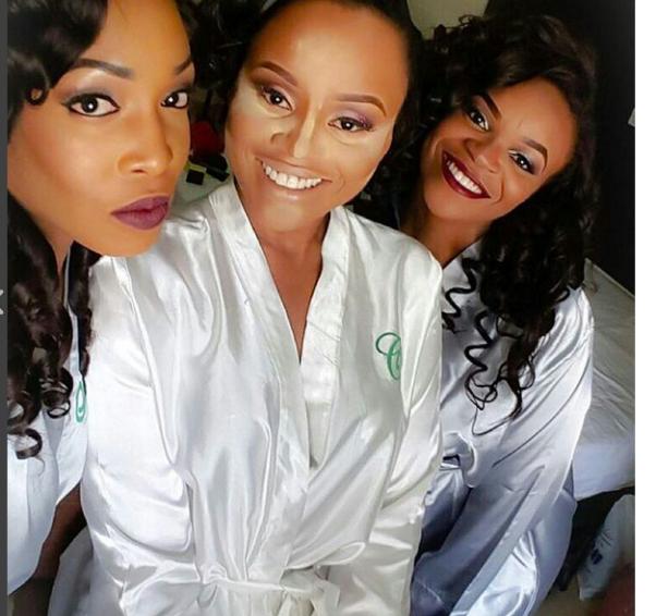 Ebuka Obi - Uchendu Cynthia Obianodo White Wedding LoveweddingsNG 7