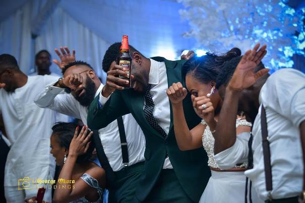 Ebuka Obi - Uchendu Cynthia Obianodo White Wedding LoveweddingsNG - Dab After Party