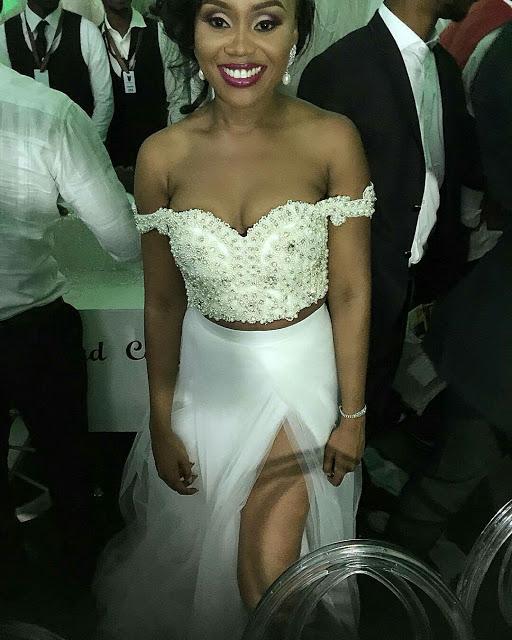 Ebuka Obi - Uchendu Cynthia Obianodo White Wedding LoveweddingsNG - bride in wana sambo
