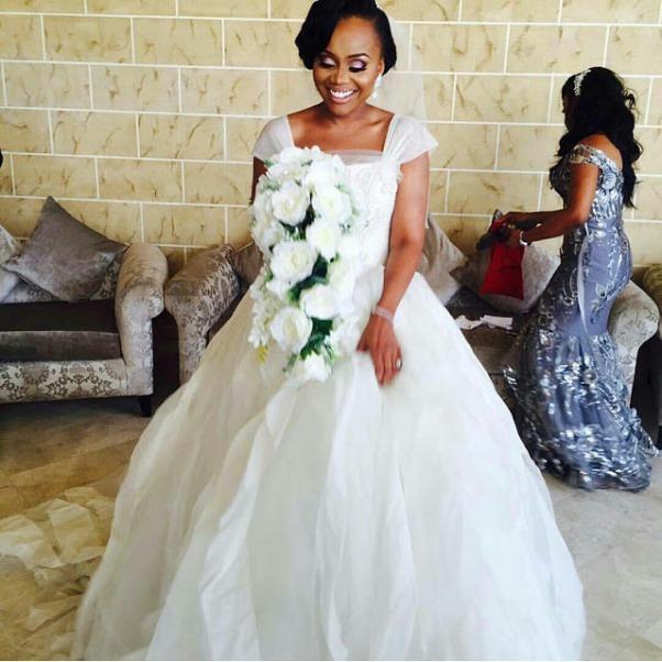 Ebuka Obi - Uchendu Cynthia Obianodo White Wedding LoveweddingsNG - bride