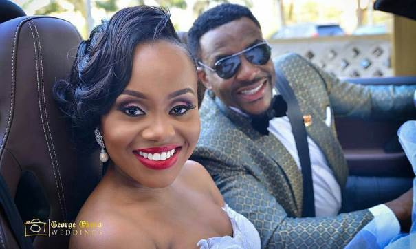 #OBI2016: First Photos from Ebuka Obi – Uchendu & Cynthia Obianodo's White Wedding