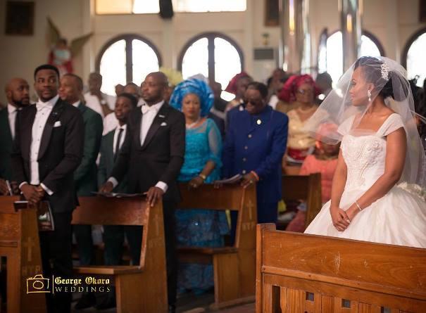 Ebuka Obi - Uchendu Cynthia Obianodo White Wedding LoveweddingsNG - first look