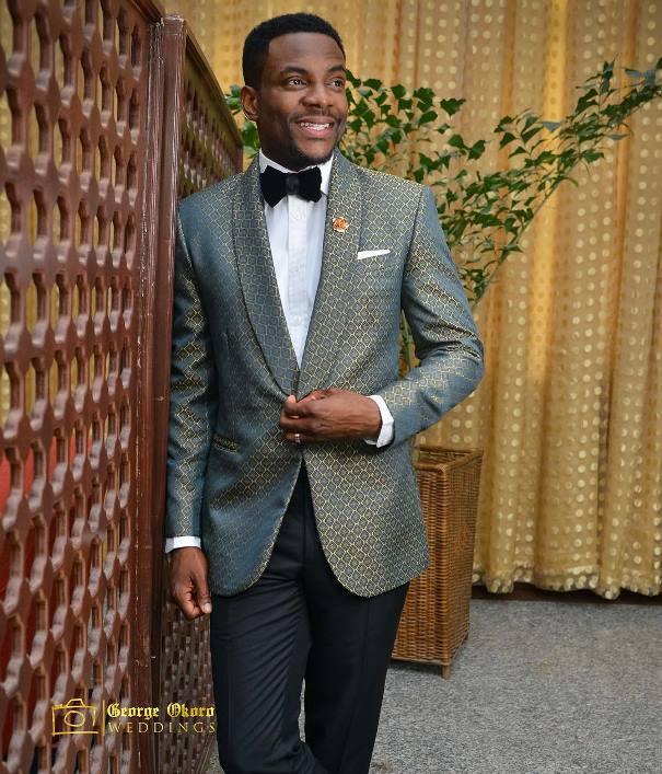 Ebuka Obi - Uchendu Cynthia Obianodo White Wedding LoveweddingsNG - groom