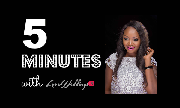 LoveweddingsNG 5 Minutes With Dolapo Pretty Ink Signature