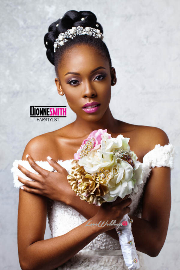Natural Hair Bridal Inspiration Dionne Smith LoveweddingsNG 1