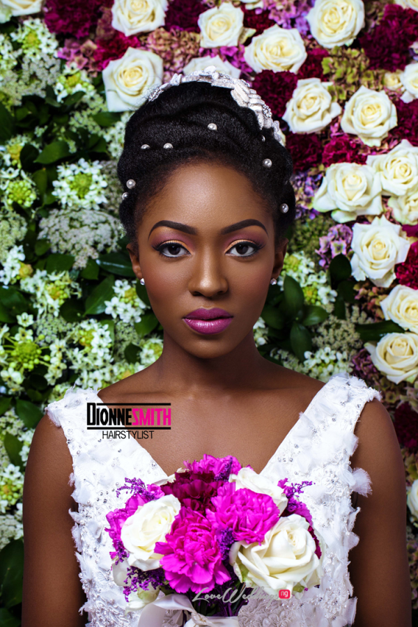 Natural Hair Bridal Inspiration Dionne Smith LoveweddingsNG 2