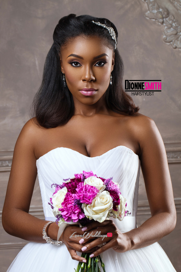 Natural Hair Bridal Inspiration Dionne Smith LoveweddingsNG 3