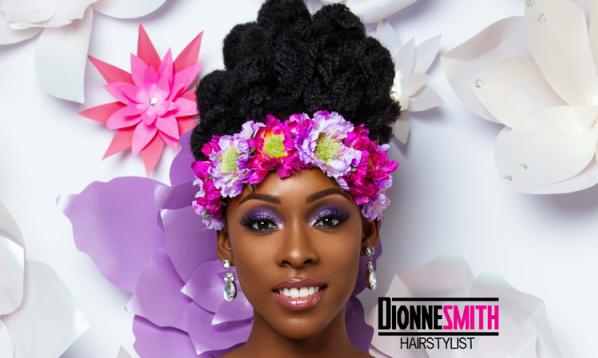 Natural Hair Bridal Inspiration | Dionne Smith Hair