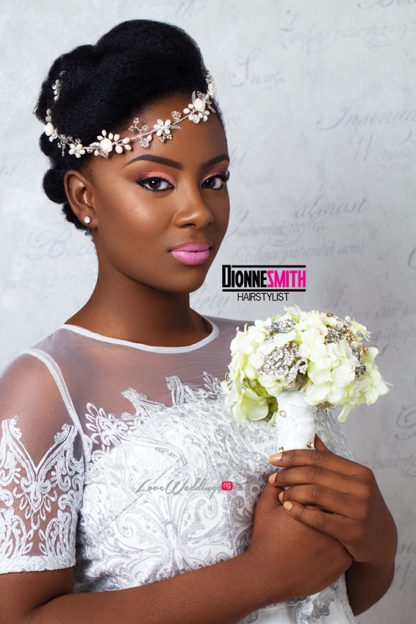 Natural Hair Bridal Inspiration Dionne Smith LoveweddingsNG
