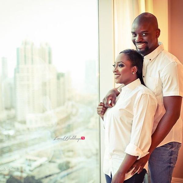 Nigerian Engagement Shoot - Caroline Tobi #CacaTobi LoveweddingsNG 1